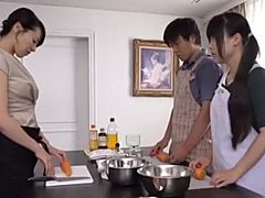 Oriental Japanese mom and her debauching stepson mom tube